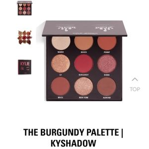 Kylie Burgundy Eyeshadow Palette